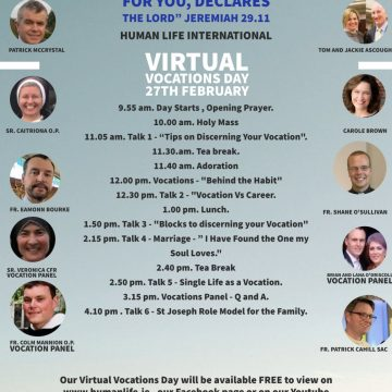 LIVE VIRTUAL VOCATIONS DAY